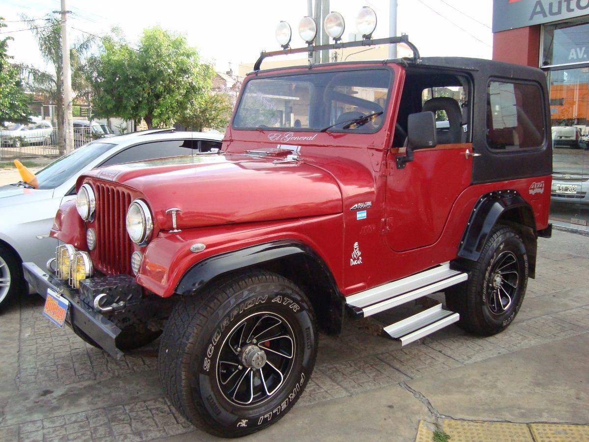Ika Fabricaba El Primer Jeep Nacional Hace 60 A U00f1os