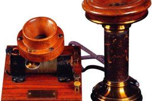 El antiguo telefono fue descubierto por Meucci