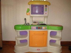 Este era uno de los juegos para niñas