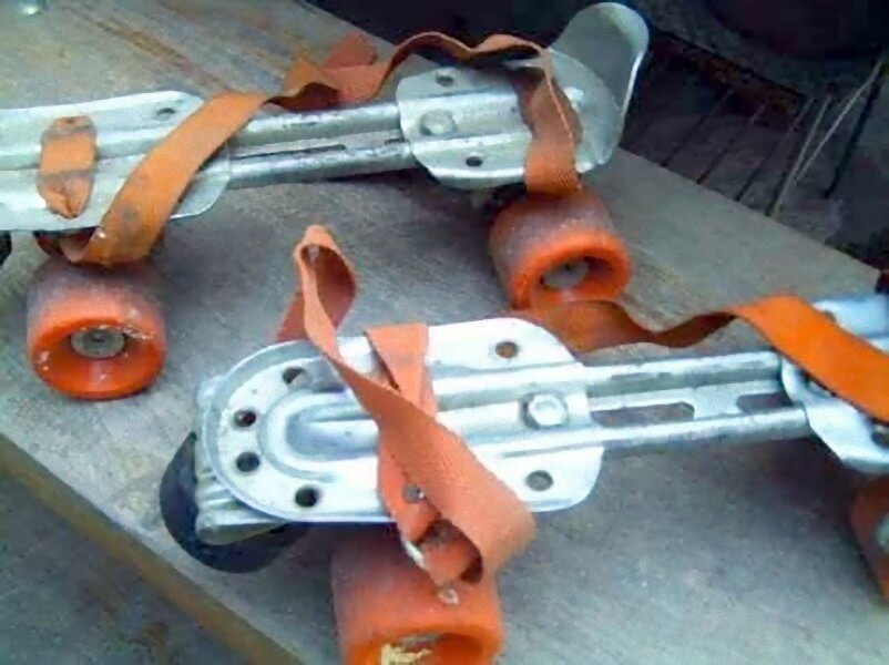Los patines de 4 ruedas en nuestra infancia