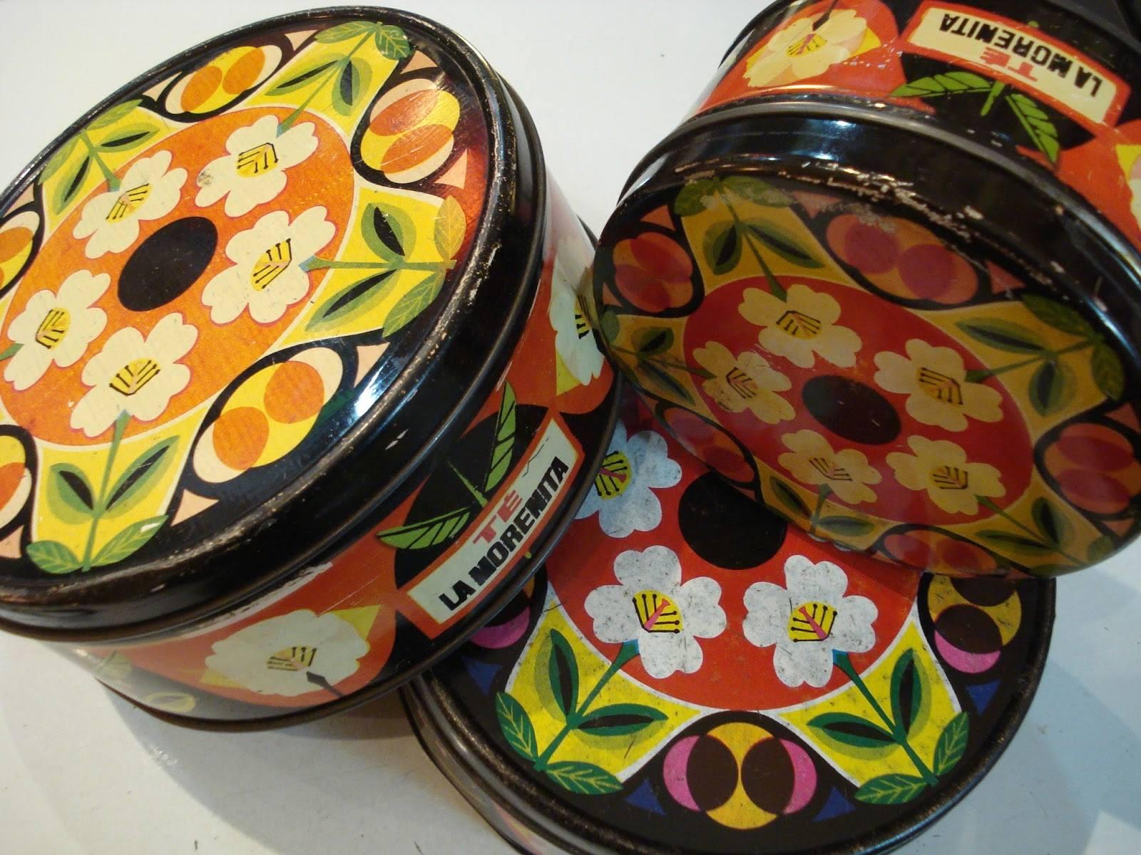 Latas decoradas la Morenita