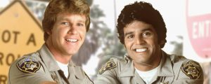 La exitosa serie policial Chips patrulla motorizada