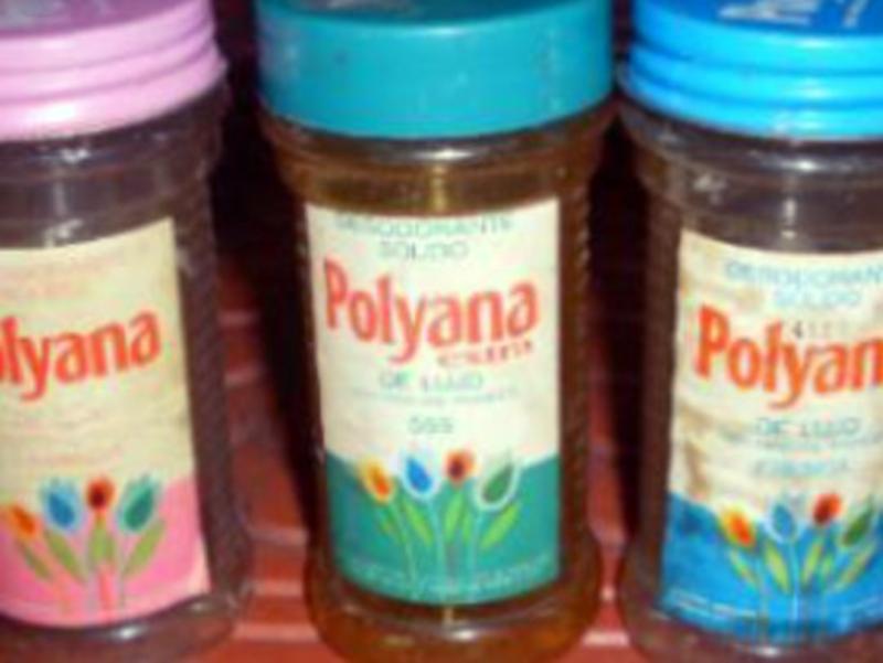 Antiguo desodorante Polyana